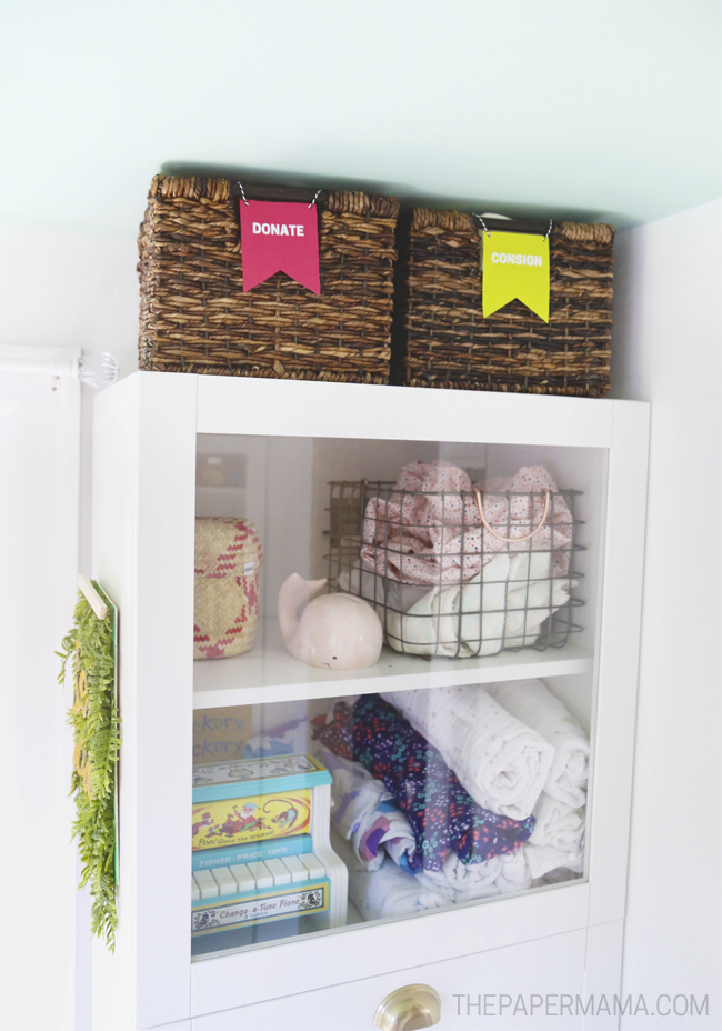Decluttering and Organizing Your Home with Free Printable Sorting Signs