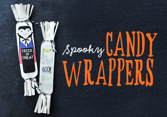 These printable candy wrappers are so cute! Check them out on Handmade Charlotte.