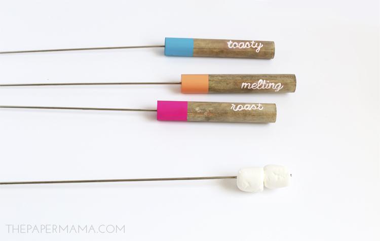 Roasting Stick DIY - thepapermama.com