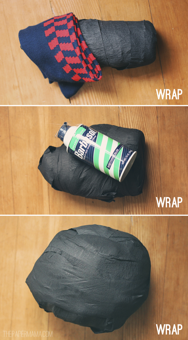Surprise Ball Wrap