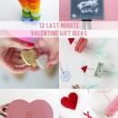 12 Last Minute Valentine Gift Ideas // thepapermama.com