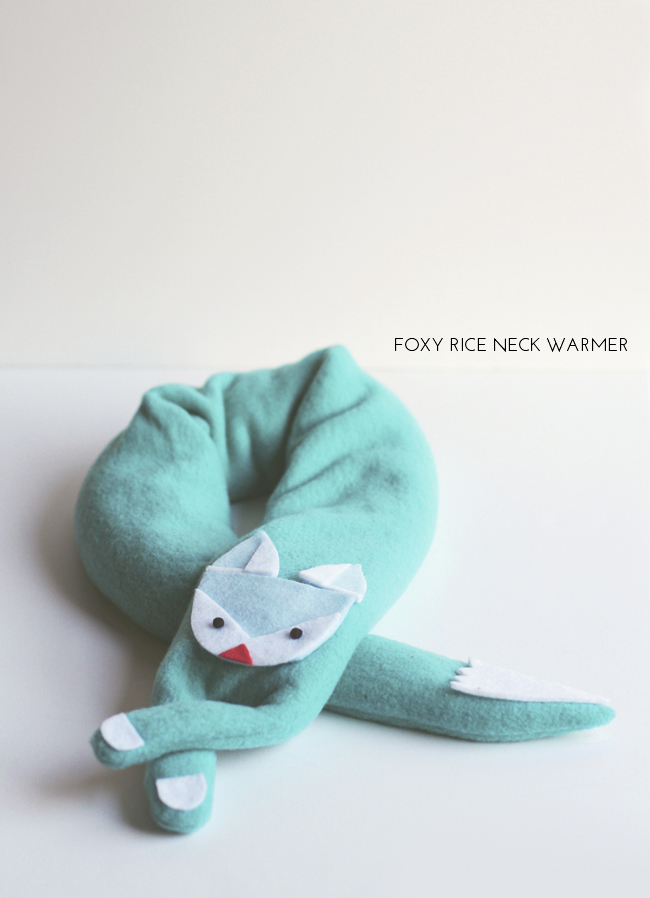 Foxy Rice Neck Warmer