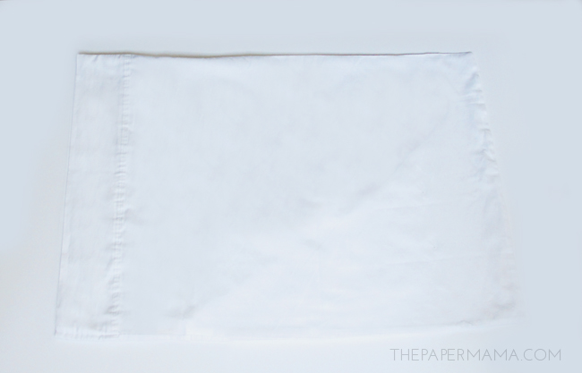 Christmas Decor: Antler Pillowcase DIY (with printable)