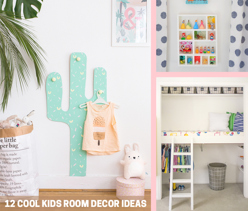 12 Cool Kids Room Decor Ideas