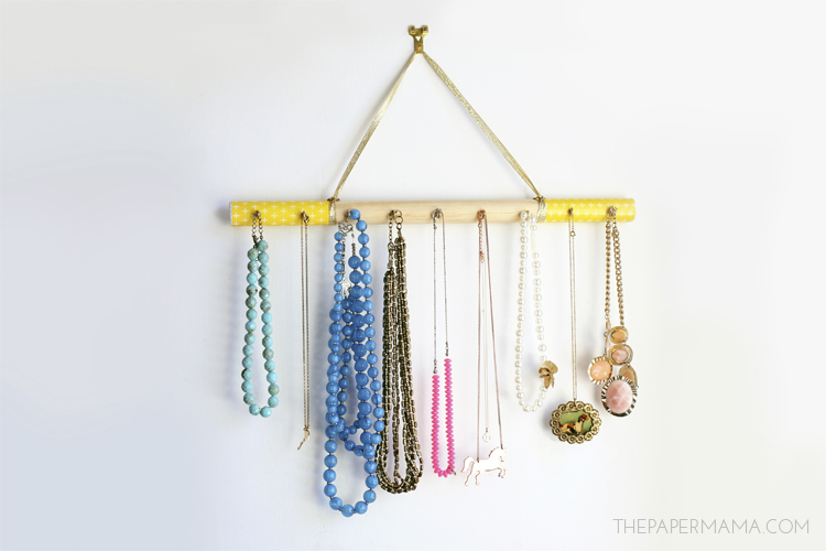 Jewelry Hanger DIY