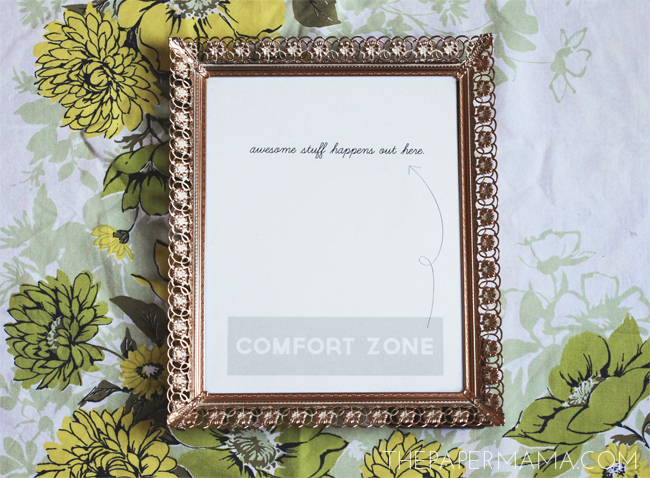 Comfort Zone Freebie Printable // thepapermama.com