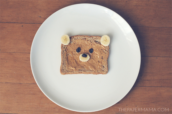 Good Idea: Bear Toast // thepapermama.com