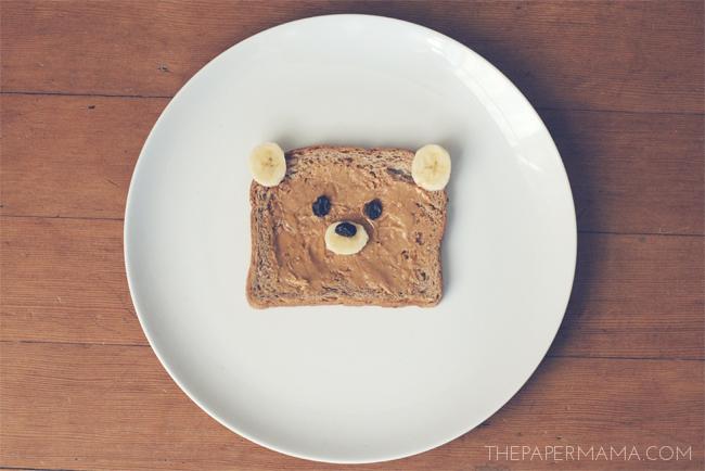Good Idea: Bear Toast // thepapermama.com