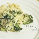 Cheesy Broccoli Crock Pot Recipe // thepapermama.com
