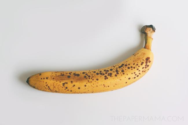Banana Ice Cream 3 Ways // thepapermama.com