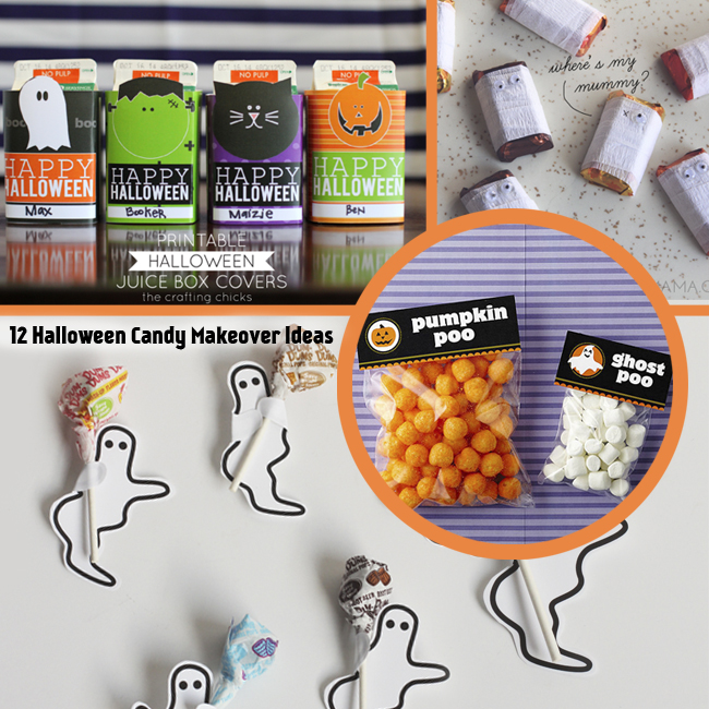 12 Halloween Candy Makeover Ideas