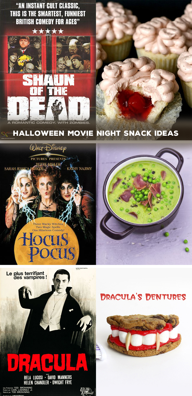 Halloween Movie Night Snack Ideas