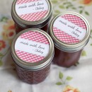 Day 33: Apple Butter Recipe (no added sugars) and Printable Canning Labels
