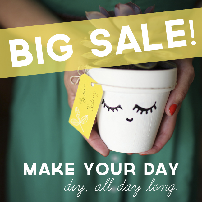 Make Your Day Sale // thepapermama.com
