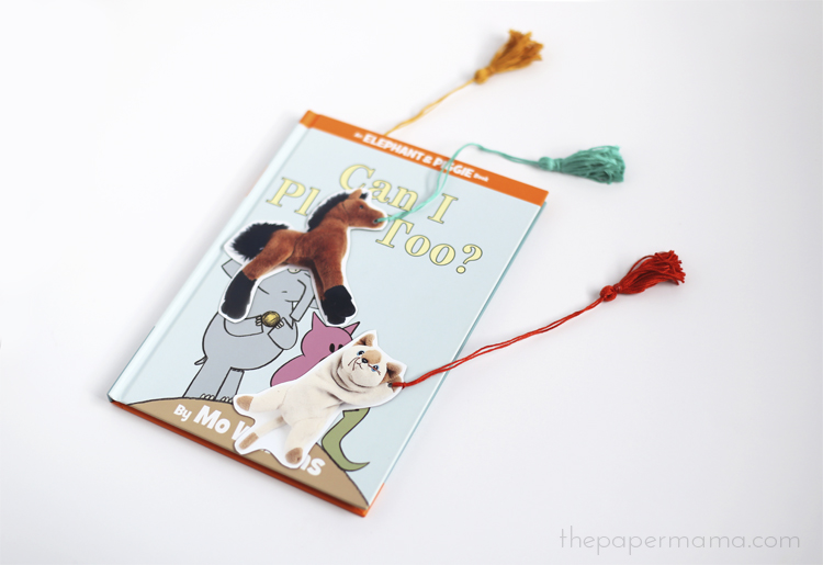 Photo Bookmark DIY