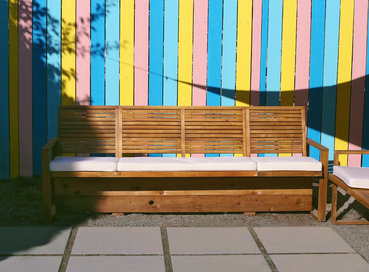 DIY Outdoor Sofa Hack