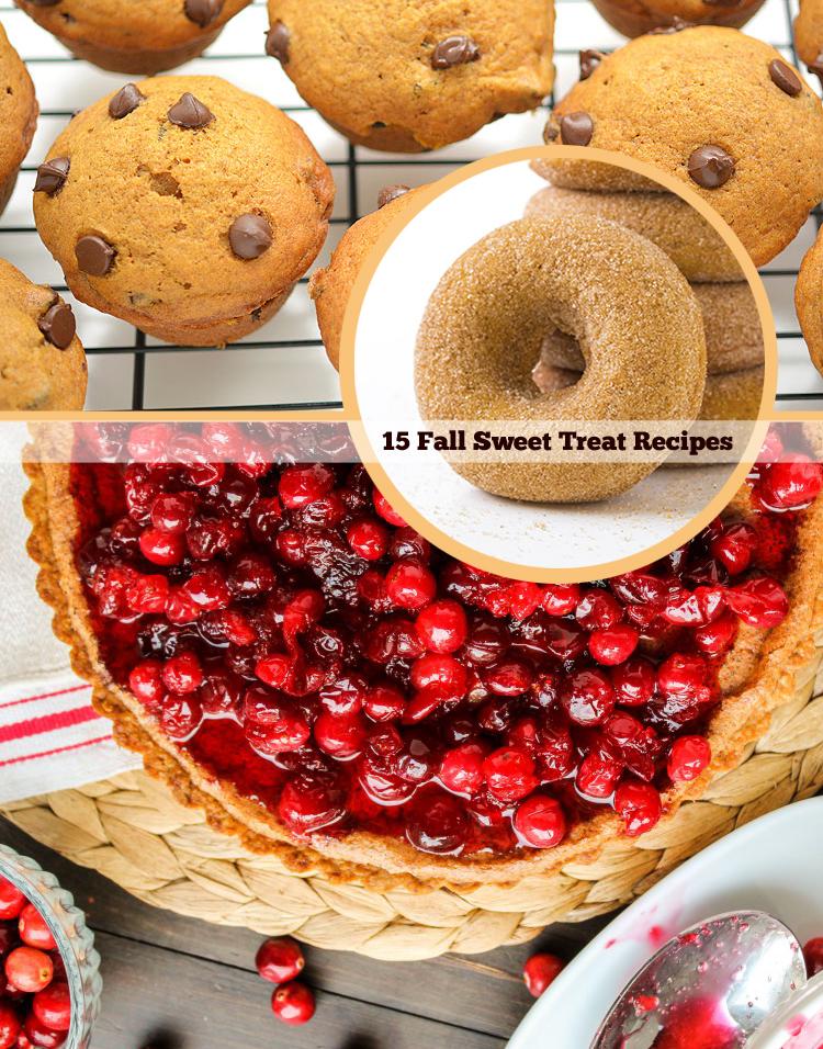 Sweet Recipes: 15 Fall Sweet Treat Recipes