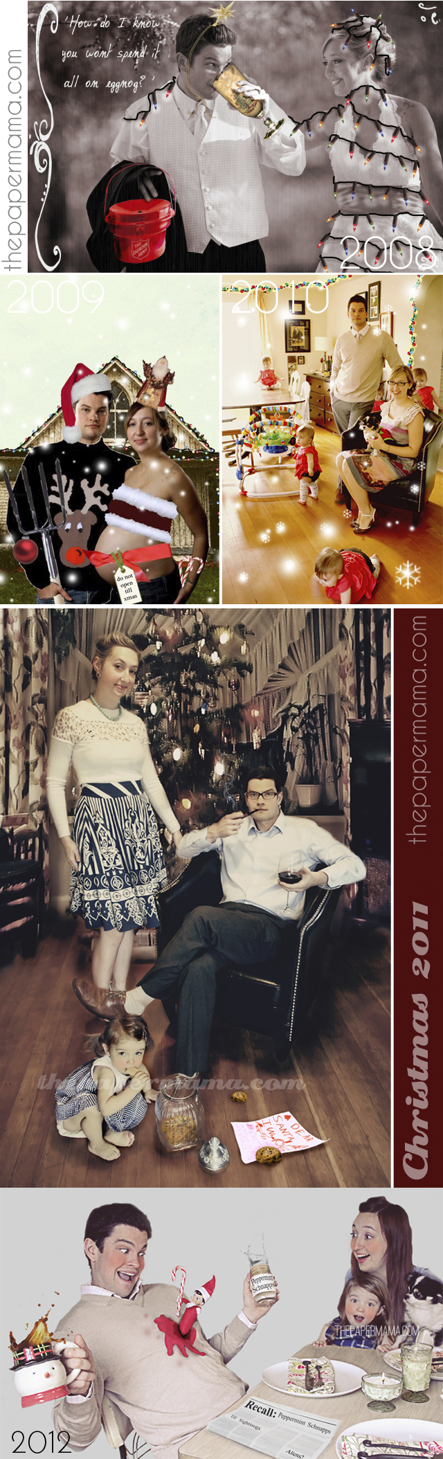 Holiday Photo Challenge // thepapermama.com