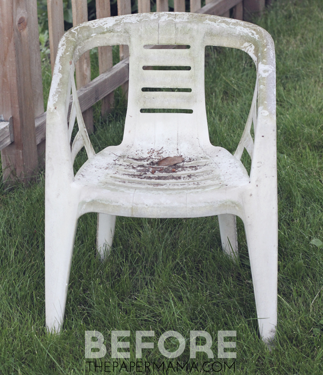 Revamped Outdoor Chairs