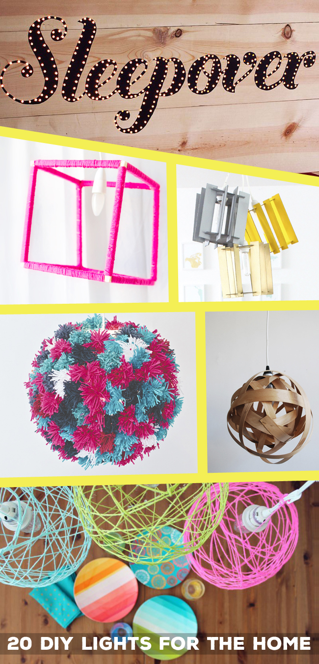 20 DIY Lights For The Home