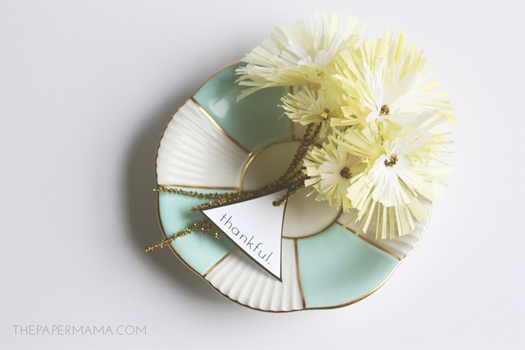 Mini Paper Flower Bouquets
