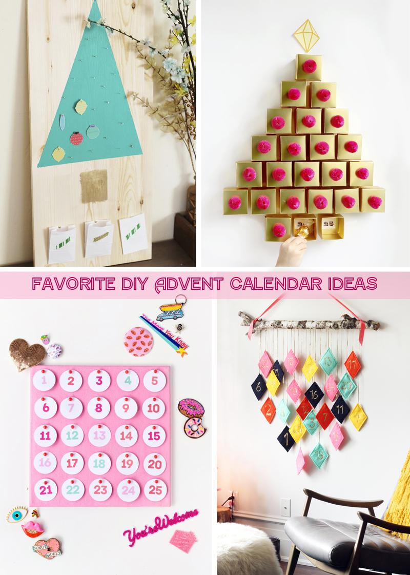 Calendar Ideas For Home : Day favorite diy advent calendar ideas