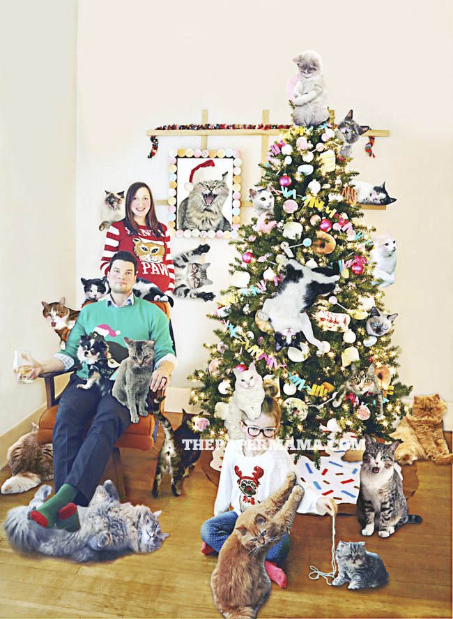 Our Silly Christmas Photo + a $150 Minted Giveaway!