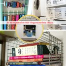10 Inexpensive DIY Organization Ideas