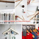 8 Ideas To Organize Your Home Using Hangers