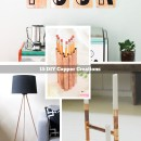 15 DIY Copper Creations