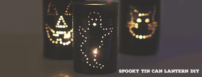 Spooky Lantern DIY