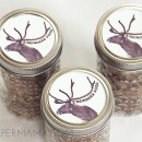 Reindeer Food Jar Labels // thepapermama.com