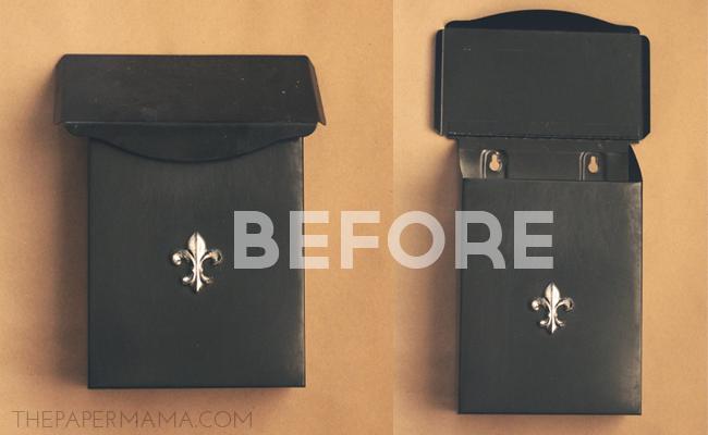 Mailbox Makeover DIY // thepapermama.com