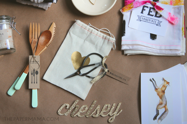 Meet Make Do Goody Bags #meetmakebing // thepapermama.com