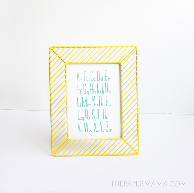 ABC Print (free for download) // thepapermama.com