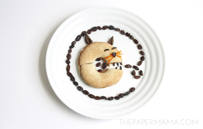 Fun Kid Snack Ideas: monster kitty // thepapermama.com