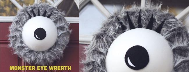 Monster Eyeball Wreath