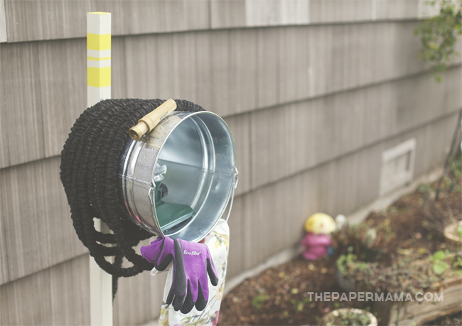 Bucket Hose Holder DIY