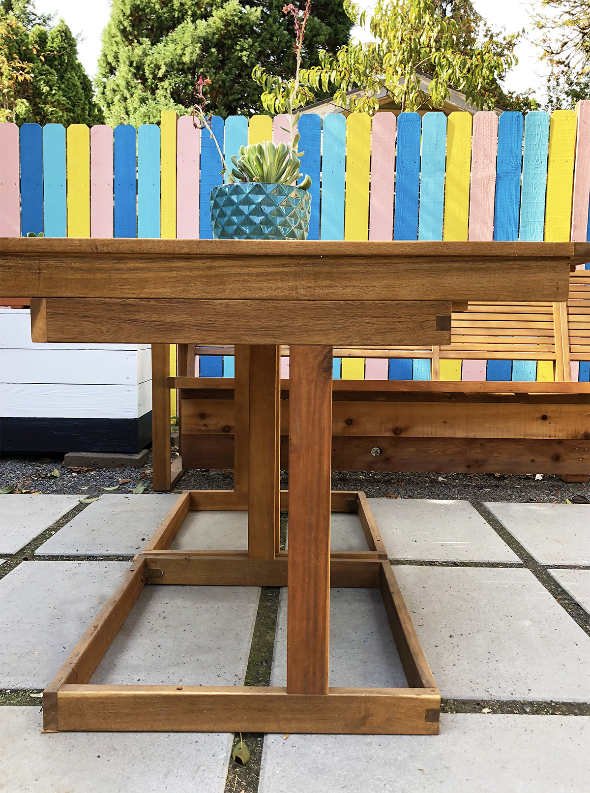 DIY Outdoor Sofa Hack
