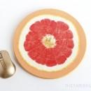 Grapefruit Mouse Pad DIY
