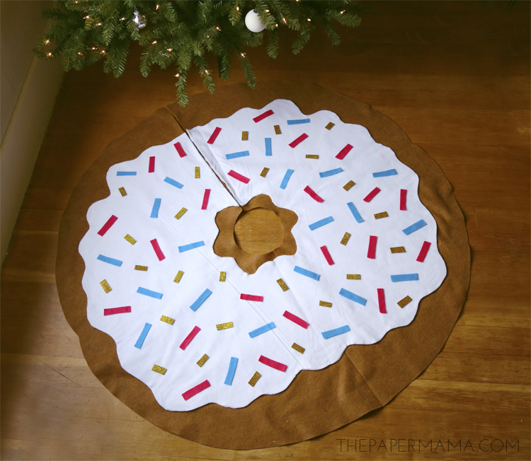 Doughnut Tree Skirt DIY