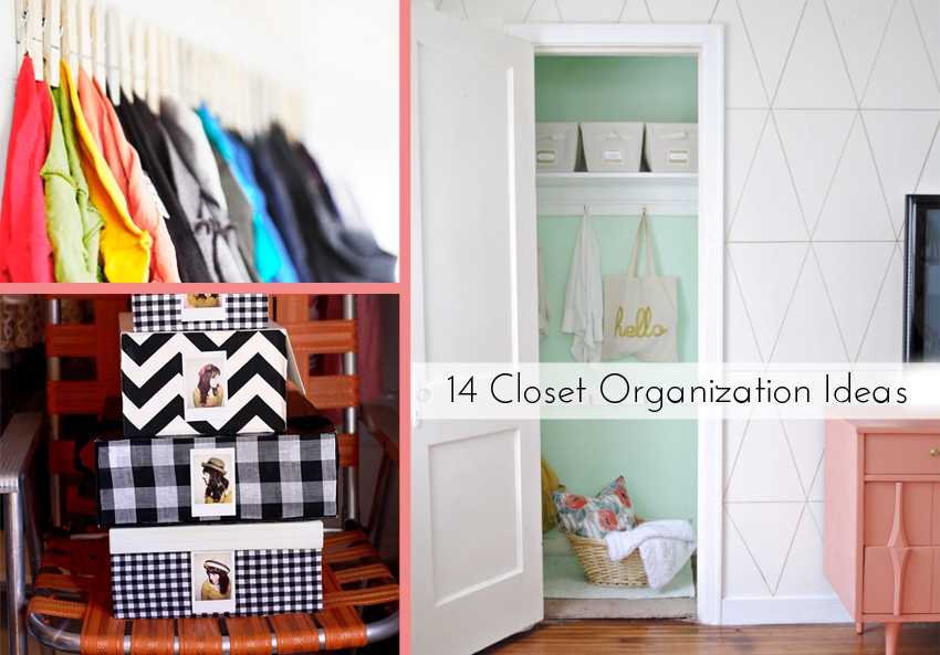 14 Closet Organization Ideas on the Better Homes and Gardens blog.