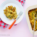 Creamy Spaghetti Squash Casserole with Chicken and Chorizo (Dairy-Free, Whole 30, Paleo, Gluten Free, Low Carb)