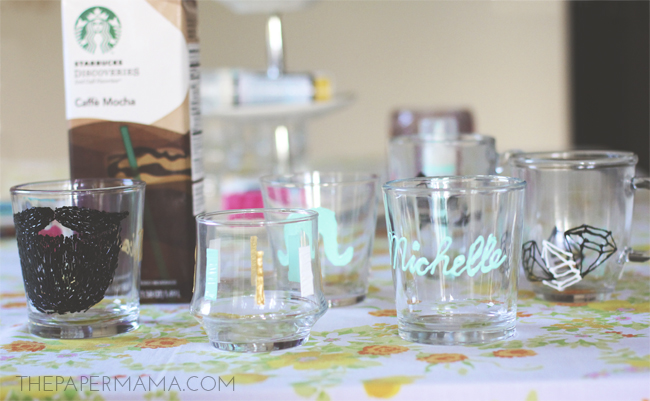 glass painting party // thepapermama.com