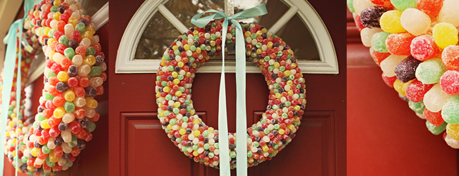 Gumdrop Wreath DIY