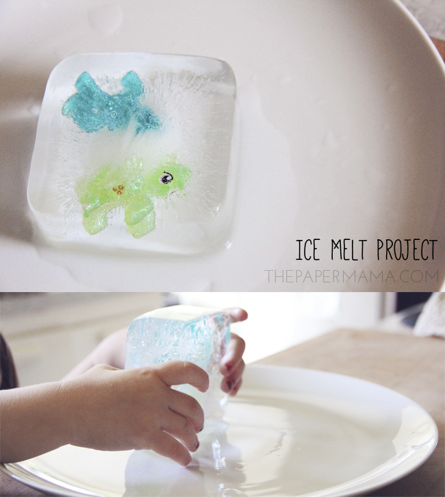 Ice Melt Project // thepapermama.com