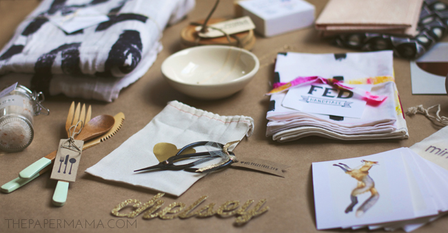 Meet Make Do Goody Bags #meetmakebing // thepapermama.com
