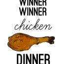Winner Winner Chicken Dinner // thepapermama.com