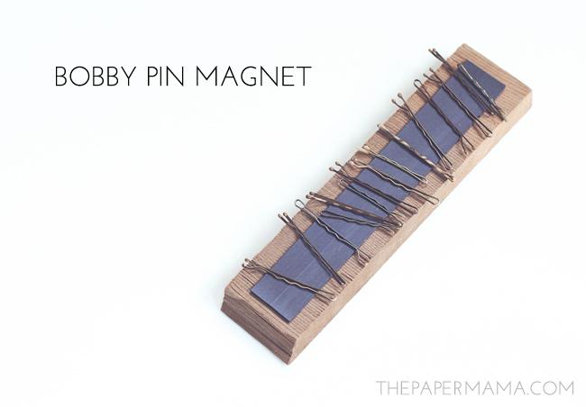 Bobby Pin Magnet // thepapermama.com