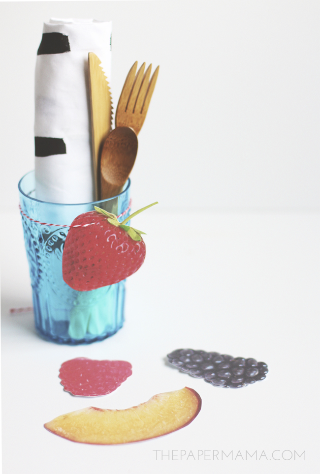 Fruit and Berry Gift Tags (free printable)